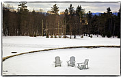 Berkshires Prints - Berkshires Winter 3 - Massachusetts Print by Madeline Ellis