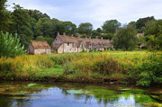 South West Prints - Bibury Print by Joana Kruse