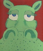 Yshua The Painter - Big Green Potamus