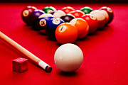 Indoor Sport Posters - Billards pool game Poster by Michal Bednarek
