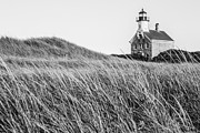 Block Prints - Block Island North Lighthouse Print by Diane Diederich