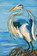 Ellen Anthony - Blue Heron II