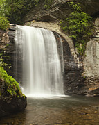 Waterfall Prints - Blue Ridge Waterfall Print by Andrew Soundarajan