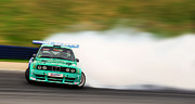Jdm Prints - BMW Drift Print by Martin Slotta