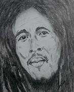 Bob Marley Print by Collin A Clarke
