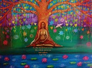 Bodhi Tree Art - Bodhi Tree by Alice Mason