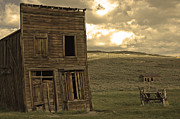 Haunted Shack Posters - Bodie California Poster by Nick  Boren