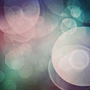 Mythja Posters - Bokeh background Poster by Mythja  Photography