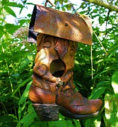 Sherman Perry - Boot Bird Feeder