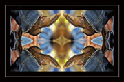 Strength Photo Posters - Boots Kaleidoscope Poster by Joan Carroll