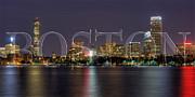 Joann Vitali - Boston Skyline Poster