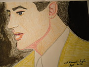 Expensive Drawings - Brendan Fraser by Fladelita Messerli-