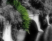 Shelburne Falls Prints - Bridge Of Flowers Print by Smilin Eyes Treasures