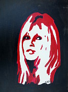 Brigitte Bardot Paintings - Brigitte Bardot by Krista May