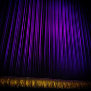 Curtain Digital Art Prints - Broadway Print by Natasha Marco