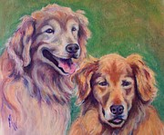 Brothers Print by Mindy Sue Werth