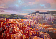 Point Park Painting Posters - Bryce Canyon Poster by Filip Mihail