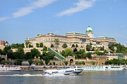 Hungary Travel Photos - Buda Castle in Budapest by Artur Bogacki