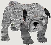 Bulldog Begins Print by Bri Buckley