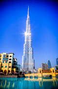 Arabia Photos - Burj Khalifa Dubai by Fototrav Print