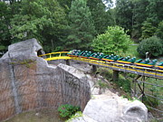 Monster Photo Prints - Busch Gardens - 121211 Print by DC Photographer