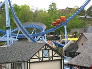 Drop Framed Prints - Busch Gardens - 12123 Framed Print by DC Photographer