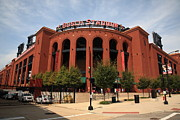Attractions Photography Prints - Busch Stadium - St. Louis Cardinals Print by Frank Romeo