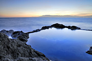 Sunset Seascape Posters - Cabo De Gata Poster by Guido Montanes Castillo