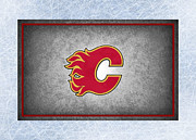 Calgary Flames Print by Joe Hamilton