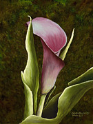 Calla Lily Print by Mary Ann King