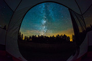Creationism Originals - Camping under the stars by Michael Ver Sprill
