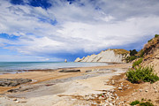 Beach Scenery Prints - Cape Kidnappers Hawkes Bay New Zealand Print by Colin and Linda McKie