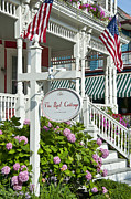 Charming Cottage Photos - Cape May Guest Cottage by John Greim