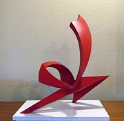 Steel Sculpture Sculptures - Capoeira by John Neumann