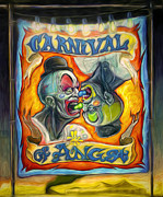 Carnival Of Angst Print by Gregory Dyer
