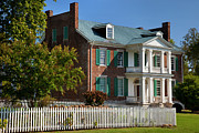 Historic Site Art - Carnton Plantation by Brian Jannsen