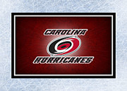 Hockey Art - Carolina Hurricanes by Joe Hamilton