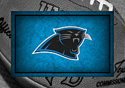 Panther Framed Prints - Carolina Panthers Framed Print by Joe Hamilton