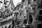 Discord Prints - casa batllo modernisme style building in Barcelona Catalonia Spain Print by Joe Fox