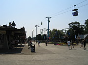 Scream Prints - Cedar Point - 12124 Print by DC Photographer