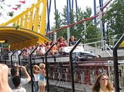 Point Prints - Cedar Point - Top Thrill Dragster - 12121 Print by DC Photographer