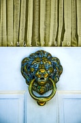 House Lion Prints - Charleston Home Series Print by Wendy Mogul