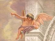 St. Augustine Paintings - Cherub by John Alan  Warford