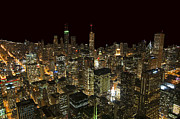Chicago Prints Framed Prints - Chicago Framed Print by Jeff Lewis