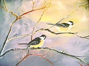 True Vine Gallery-- Donna E Dixon - Chickadees