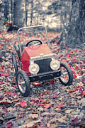 Red Leaves Photos - Childhood Memories by Edward Fielding