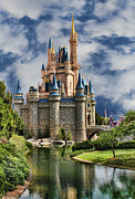 Medieval Castle Photos - Cinderella Castle by Lee Dos Santos