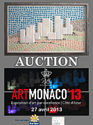 Fine Art Sculptures Mixed Media - City Mosaic by Thomas Maes