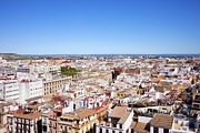 Rooftop Photos - City of Seville in Spain by Artur Bogacki