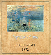 Claude Monet 2 Print by Andrew Fare